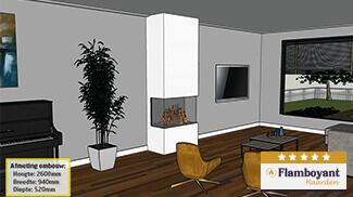 Elektrische-haard-3-zijdig-inbouwen