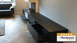 Tv-meubel-haard-lades-kleppen